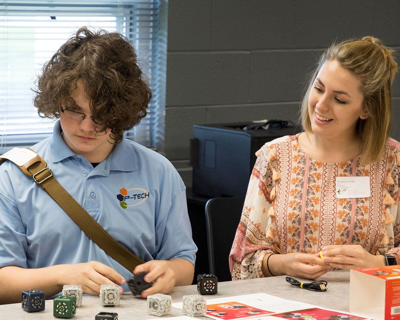 P-Tech Mentor Day